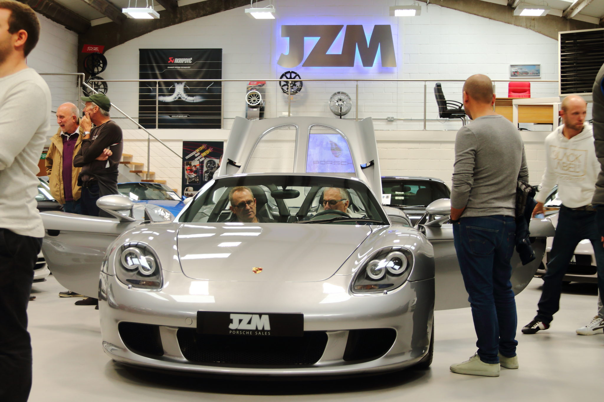 Coffee Morning at JZM Porsche