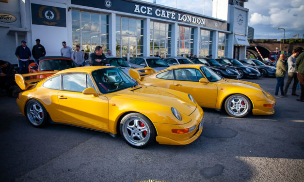 May's Porsche Club Meet at the Ace Cafe – A Pictorial