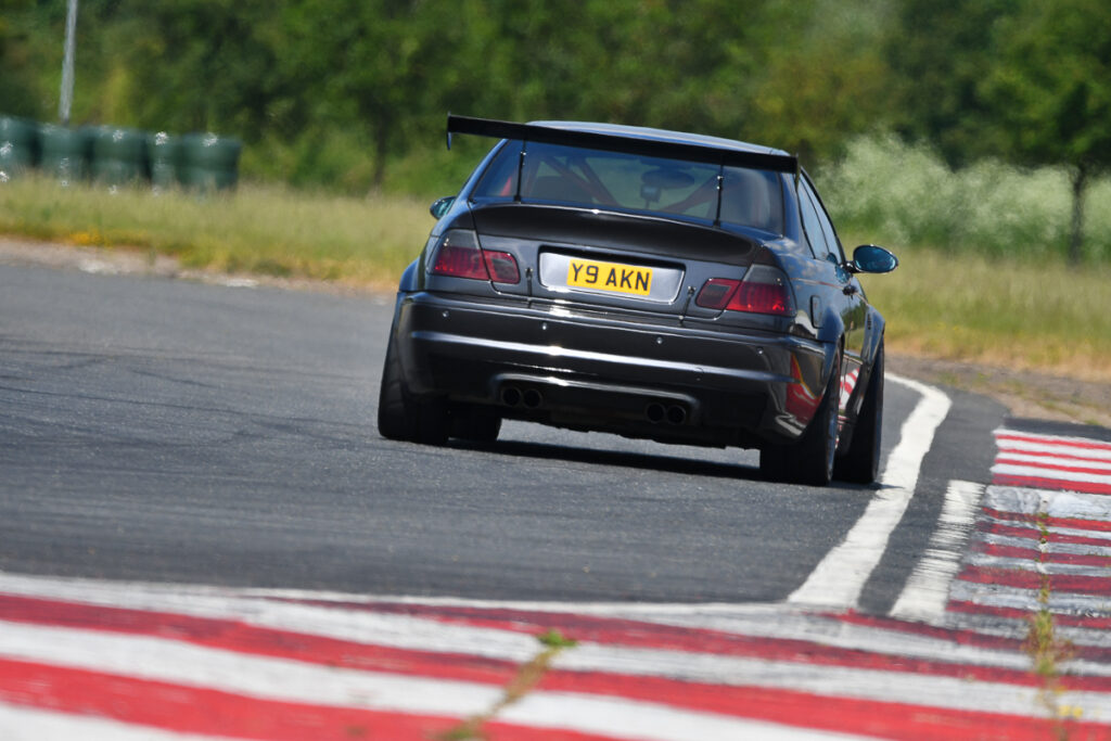 A socially-distanced trackday Bedford Autodrome. BMW M3