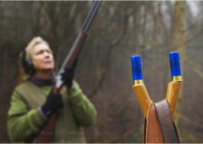 Taken for a shooting estate in Devon