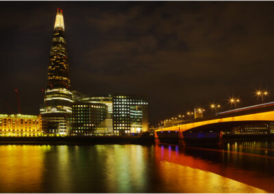 The Shard and London Bridge.