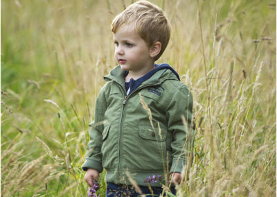 Environmental child portrait