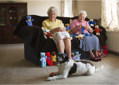 Knitting for charity