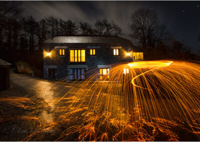 Taken to illustrate a talk on Painting with Light photography.