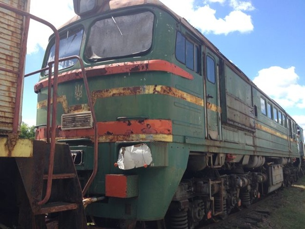Chernobyl nuclear power plant will put up for sale its old diesel locomotives