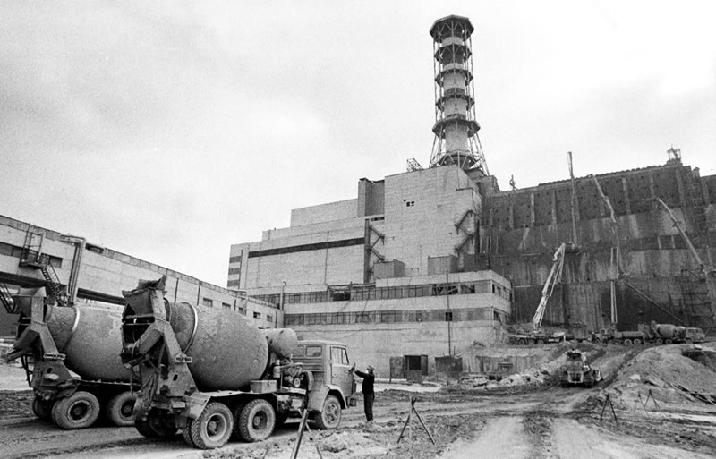How A New Sarcophagus Over The Old Made Chernobyl Safer
