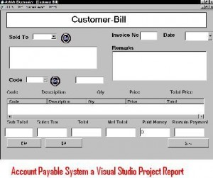 Account-Payable-System-a-Visual-Studio-Project-Report
