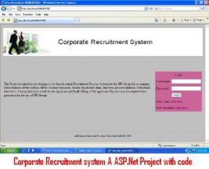 Corporate-Recruitment-system-A-ASP-Net-Project