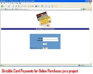 Divisible-Card-Payments-for-Online-Purchases-java-project