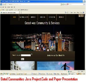 Gated-Communities-Java-Project-Code