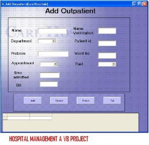 HOSPITAL-MANAGEMENT-A-VB-PROJECT