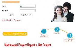 Matrimonial-Project-Report-a-Net-Projec