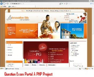 Question-Exam-Portal-A-PHP-Project