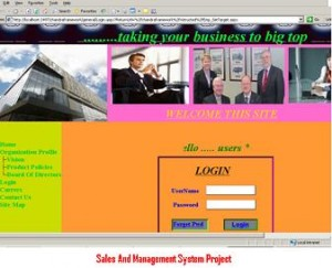 Sales-And-Management-System-Project