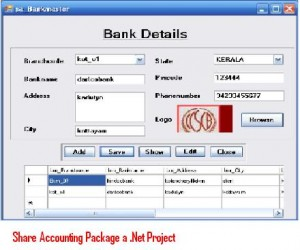 Share-Accounting-Package-a-Net-Project