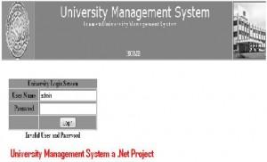 University-Management-System-a-Net-Project
