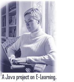 A-Java-project-on-E-Learning.