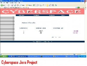 Cyberspace-Java-Project