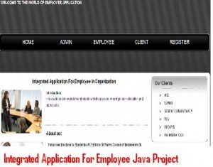 Integrated-Application-For-Employee-Java-Project