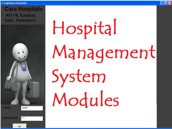Hospital Management System Modules – 1000 Projects