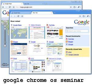 google chrome os mca seminar report