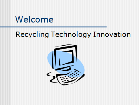 Recycling Technology Innovation