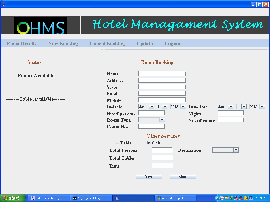 Hotel Management System Project  U2013 1000 Projects