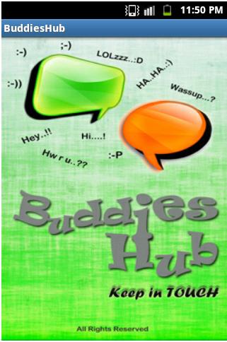 Buddies Hub Android Apllication