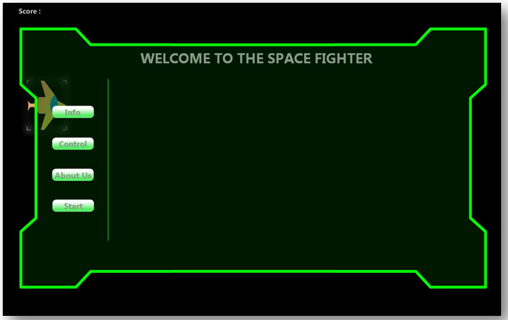 Space Fighter Project