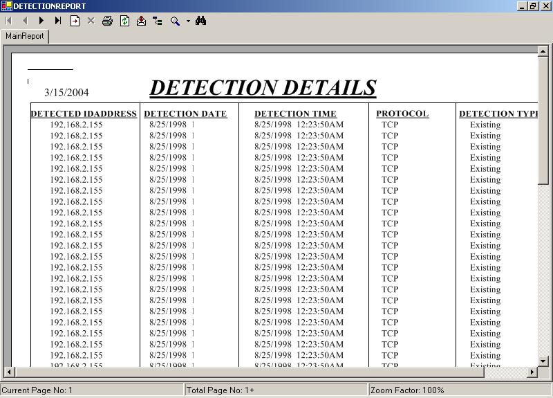 Detection Details