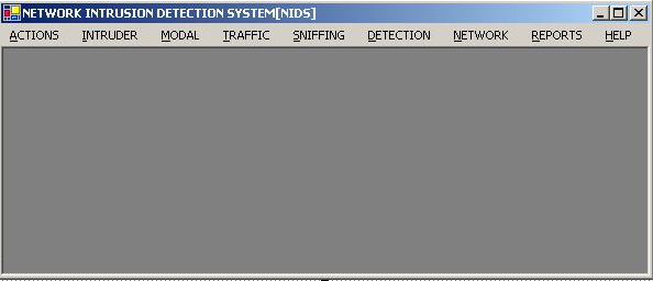 Network Intrusion Detection System Home Page