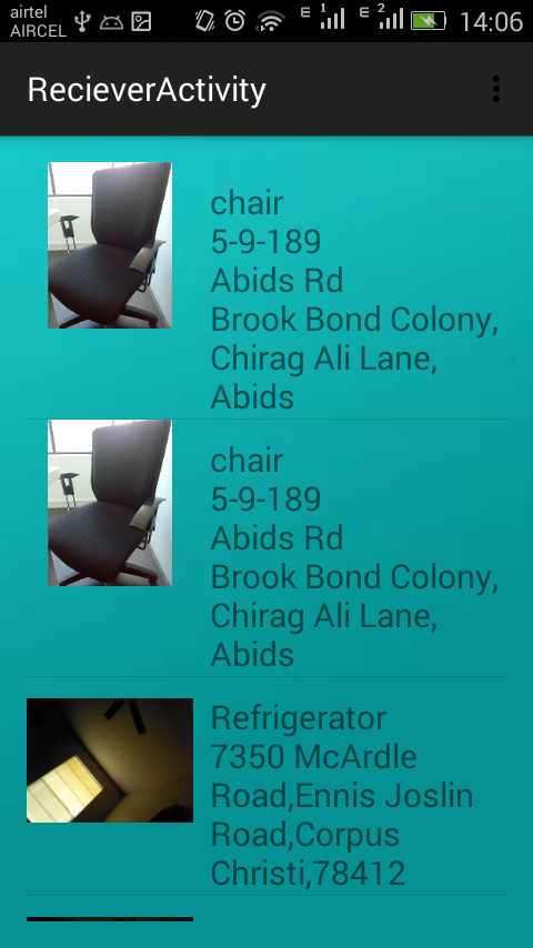 6 Donner and Reciever Category Details