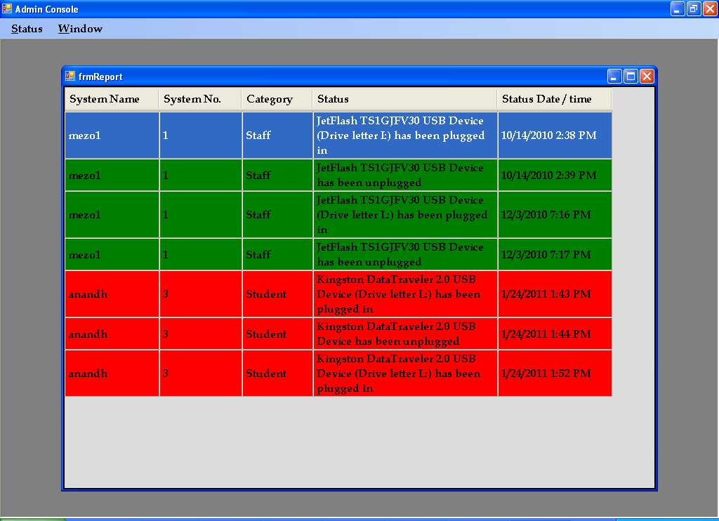 Remote Device Explorer System Server