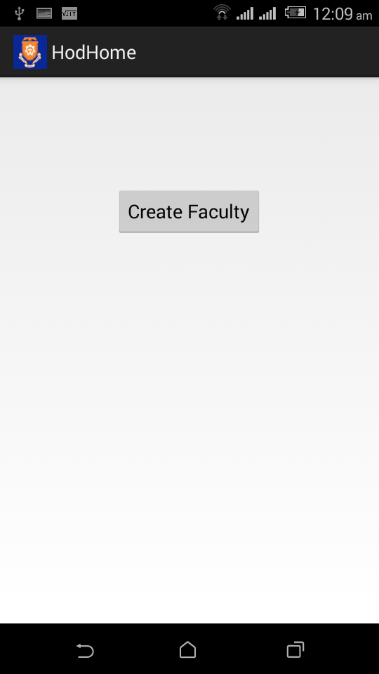 Create Faculty