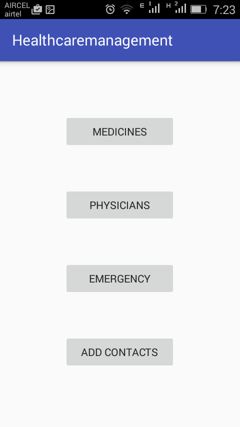 Emergency Alarm And Health Care Management System Services