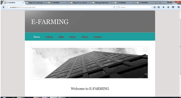 E Farming System Java Project Source Code