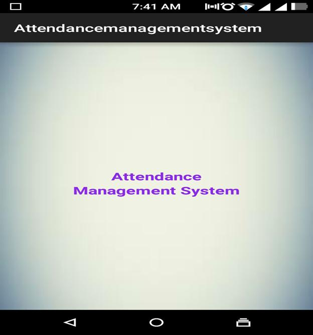 Mobile or Tablet Attendance System – 1000 Projects