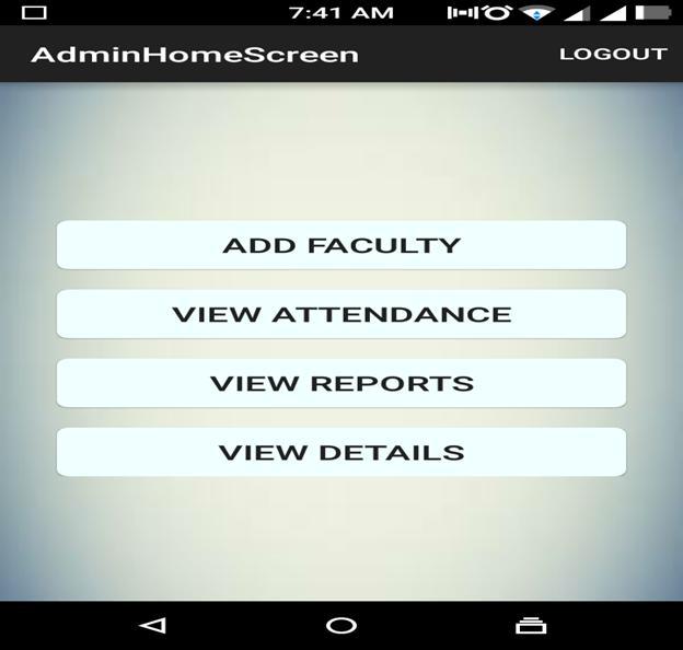 Mobile or Tablet Attendance System 08
