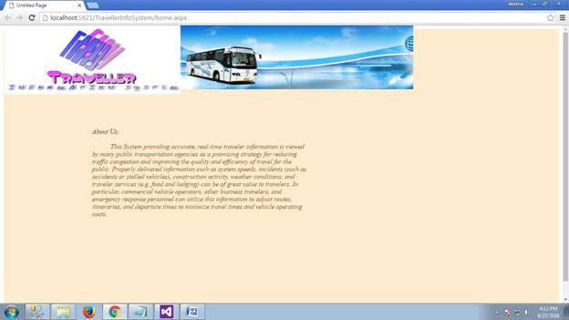 Traveler Information System 01