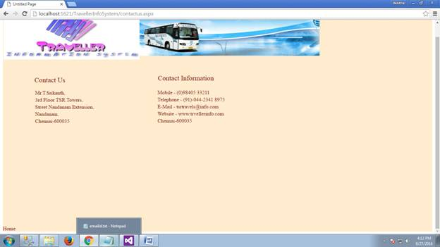 Traveler Information System 02