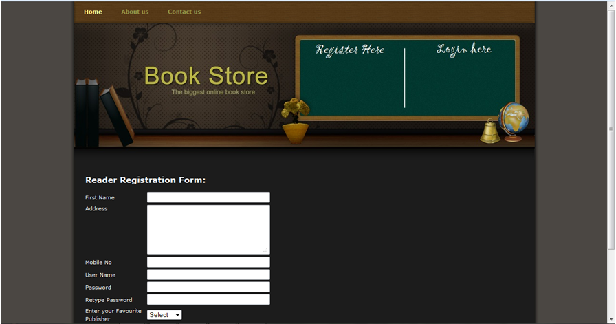 Online Book Review Management System – 1000 Projects