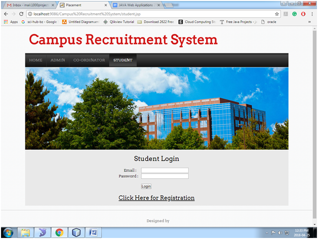 Campus Recruitment System Java Project – 1000 Projects