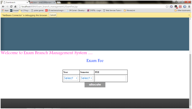 exam branch management system java project  u2013 1000 projects
