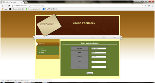 Online Pharmacy Management System Java Project – 1000 Projects