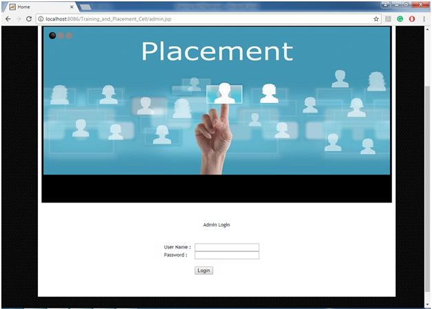 Training and Placement Cell Java Project Code & Report