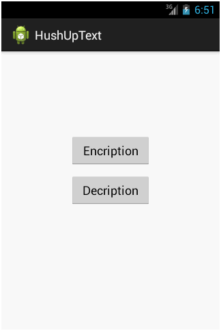 Encryption and Decryption of Data on Images Android Project