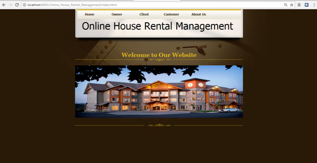 Online House Rental Management Java Project – 1000 Projects
