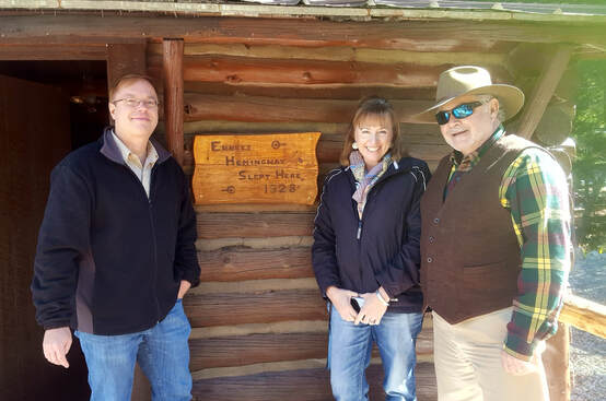 the-hemingway-cabin-at-spear-o-with-larry-grimes-debi-isakson-john-sutton