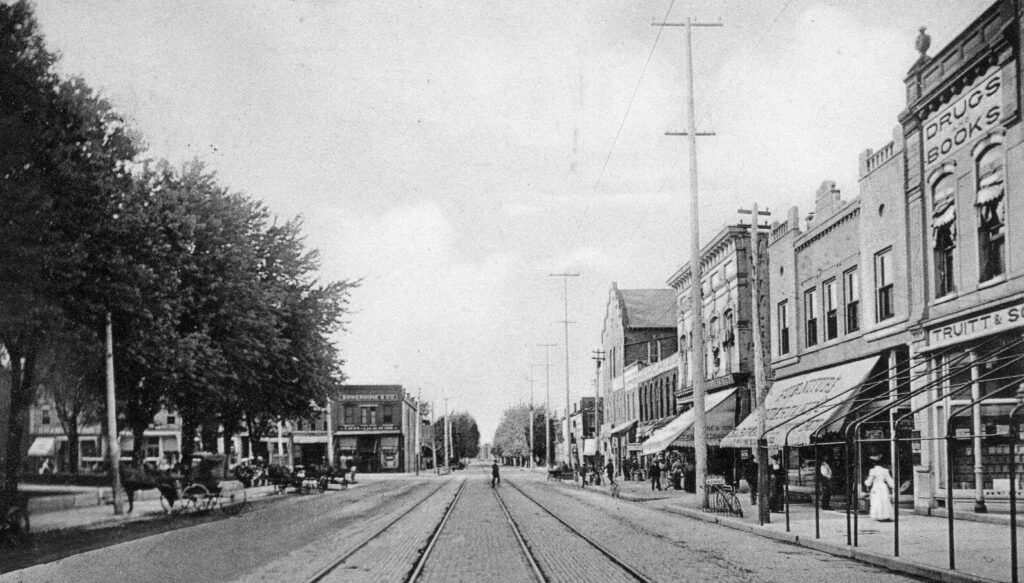 9th Street looking North, Noblesville, IND (4) (1911)