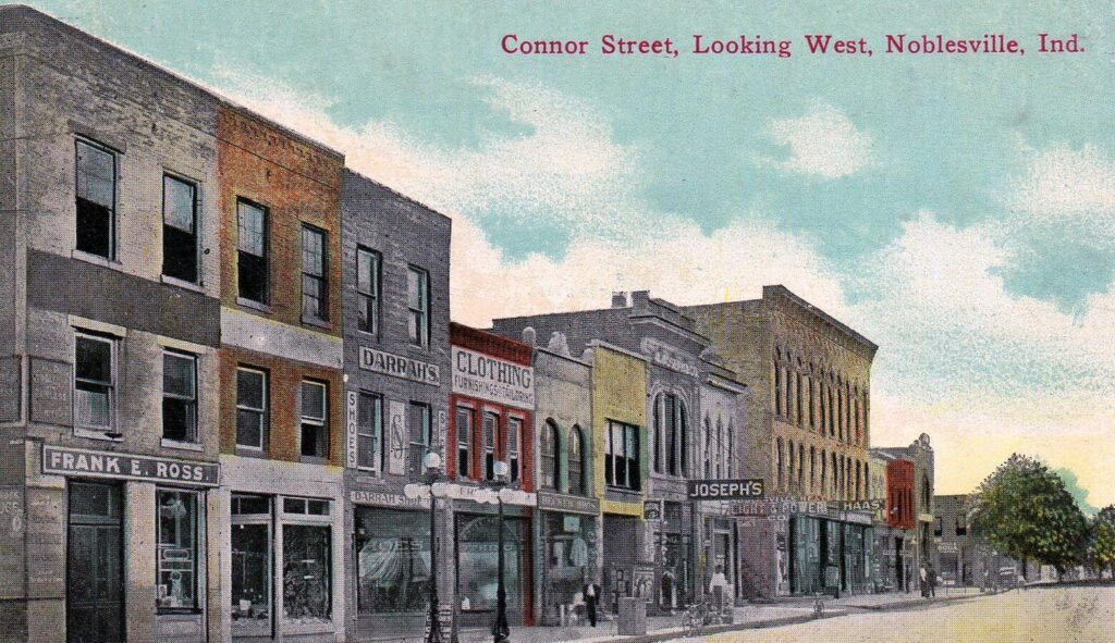 Conner Street, Looking West, Noblesville, IND